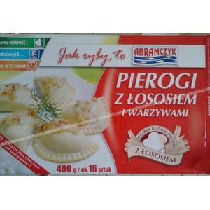 Pierogi z Łososiem i Warzywami marki Abramczyk - zdjęcie nr 1 - Bangla