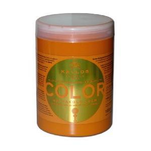 Color, Maska z olejem z ziarna lnu i filtrem UV marki Kallos - zdjęcie nr 1 - Bangla