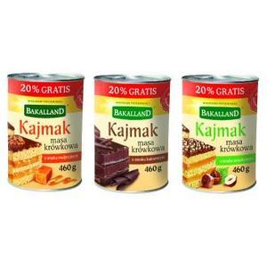 Kajmak, masa krówkowa, różne rodzaje marki Bakalland - zdjęcie nr 1 - Bangla