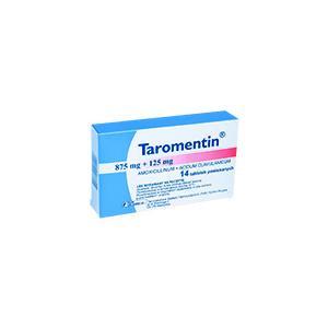 Taromentin - Amoxicillinum, Acidum clavulanicum, różne dawki i postaci marki Polfa Tarchomin S.A. - zdjęcie nr 1 - Bangla