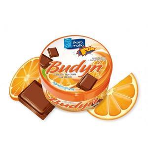 Skarb Matki, Budyń czekoladowo-pomarańczowy do ciała dla dzieci FUN marki Skarb Matki - zdjęcie nr 1 - Bangla