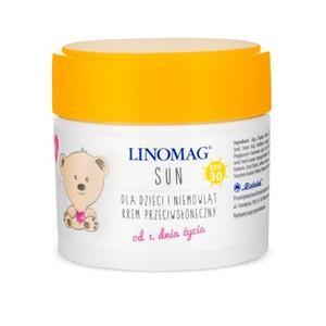 Linomag Sun, Krem przeciwsłoneczny dla dzieci i niemowląt SPF 30 marki Ziołolek - zdjęcie nr 1 - Bangla