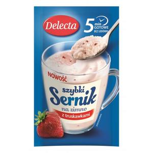 Szybki sernik na zimno, różne smaki marki Delecta - zdjęcie nr 1 - Bangla