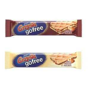 Grześki Gofree, wafelki w różnych smakach marki Goplana - zdjęcie nr 1 - Bangla