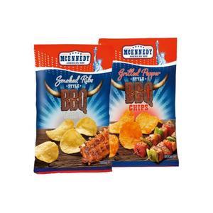 McEnnedy, BBQ Chips, różne rodzaje marki Lidl - zdjęcie nr 1 - Bangla