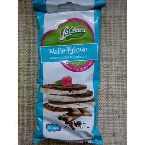 LaCestera Wafle ryżowe oblane czekoladą mleczną marki Lidl - zdjęcie nr 1 - Bangla