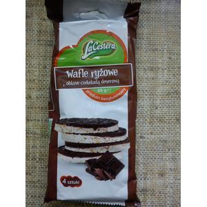 LaCestera Wafle ryżowe oblane czekoladą deserową marki Lidl - zdjęcie nr 1 - Bangla