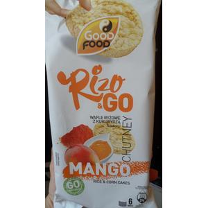 Rizo & go, wafle ryżowe z kukurydzą o smaku mango marki Good Food - zdjęcie nr 1 - Bangla