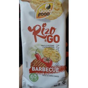 Rizo & go, wafle ryżowe z kukurydzą o smaku barbecue marki Good Food - zdjęcie nr 1 - Bangla