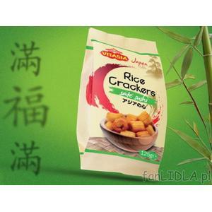 Vitasia, rice crackers sate sushi, krakersy ryżowe z nadzieniem z orzeszków ziemnych i przyprawą satay marki Lidl - zdjęcie nr 1 - Bangla