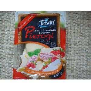 Trison Pierogi z truskawkami i serem marki Lidl - zdjęcie nr 1 - Bangla