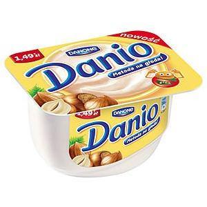 Danio Serek homogenizowany z orzechami laskowymi marki Danone - zdjęcie nr 1 - Bangla