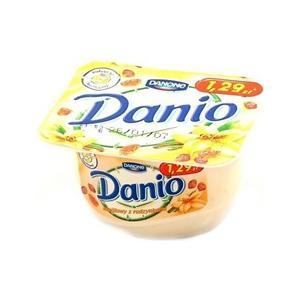 Danio waniliowy z rodzynkami serek homogenizowany marki Danone - zdjęcie nr 1 - Bangla