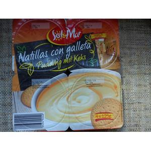 Sol & Mar Natillas con galleta Pudding mit Keks marki Lidl - zdjęcie nr 1 - Bangla