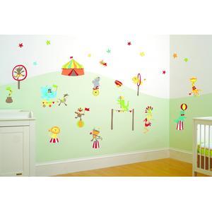 FunToSee, Naklejki do dekoracji pokoju - Cyrk Pana Chichotka marki FunToSee - zdjęcie nr 1 - Bangla