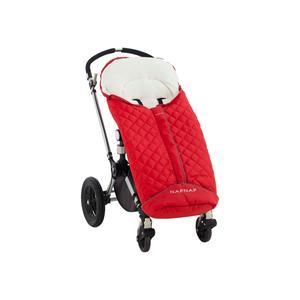 Naf Naf, Śpiworek do wózka czerwony marki Naf Naf - zdjęcie nr 1 - Bangla