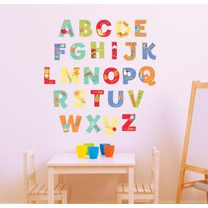 FunToSee, Drukowane litery naklejki do dekoracji pokoju marki FunToSee - zdjęcie nr 1 - Bangla