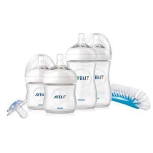 Avent, Zestaw startowy Natural (butelki, smoczki, szczotka) - BPA free SCD290/01 marki Avent - zdjęcie nr 1 - Bangla