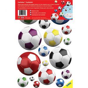 FunToSee, Naklejki do dekoracji - Piłka nożna mix marki FunToSee - zdjęcie nr 1 - Bangla
