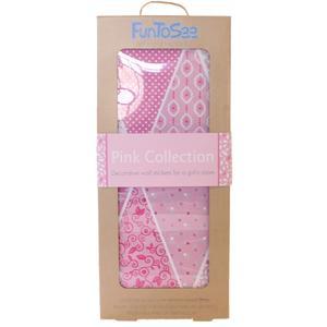FunToSee, Naklejki do dekoracji pokoju - Różowe chorągiewki  marki FunToSee - zdjęcie nr 1 - Bangla