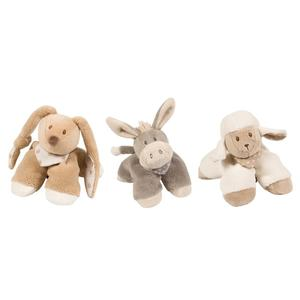 Nattou, Mała Przytulanka (królik, owieczka lub osiołek) marki Nattou - zdjęcie nr 1 - Bangla