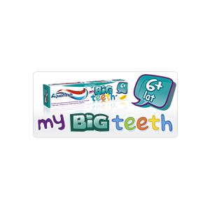 my BIG teeth 6+, Pasta do zębów powyżej 6 roku życia marki Aquafresh - zdjęcie nr 1 - Bangla