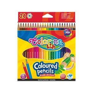 Colorino Kids, Kredki ołówkowe heksagonalne marki Patio - zdjęcie nr 1 - Bangla