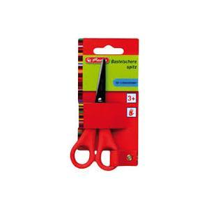 Nożyczki z ostrym zakończeniem dla prawo- lub leworęcznych marki Herlitz - zdjęcie nr 1 - Bangla