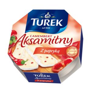 Aksamitny camembert z papryką marki Turek - zdjęcie nr 1 - Bangla
