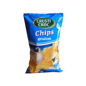 Crusti Croc, Chipsy ziemniaczane solone marki Lidl - zdjęcie nr 1 - Bangla