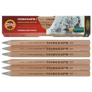 Ołówek TRIOGRAPH trójboczny marki Koh-I-Noor Hardtmuth - zdjęcie nr 1 - Bangla