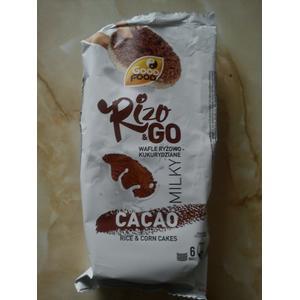 Rizo & Go Cocoa Milky, wafle ryżowo-kukurydziane o smaku kakaowo-mlecznym marki Good Food - zdjęcie nr 1 - Bangla