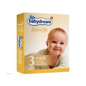 Rossmann, Babydream fun&fit midi 4-9 kg marki Rossmann - zdjęcie nr 1 - Bangla
