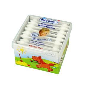 Rossmann, Babydream patyczki do uszu ze 100% czystej bawełny marki Rossmann - zdjęcie nr 1 - Bangla