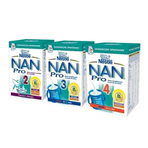 Nestle, NAN Pro 2,3,4 mleko modyfikowane w proszku marki Mleka modyfikowane NAN OPTIPRO 2 - zdjęcie nr 1 - Bangla