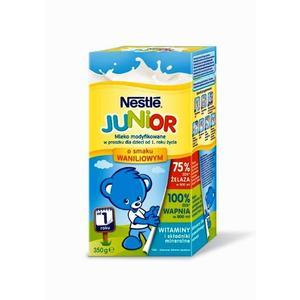 Nestle Junior, Mleko modyfikowane w proszku o smaku waniliowym marki Kaszki Nestlé - zdjęcie nr 1 - Bangla