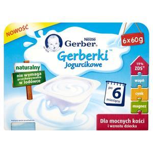 Nestle, Gerberki Jogurcikowe po 6. miesiącu marki Kaszki Nestlé - zdjęcie nr 1 - Bangla