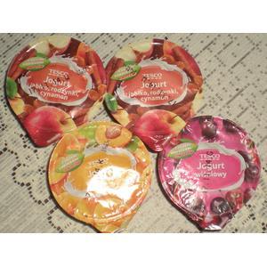 Jogurt z dużymi kawałkami owoców marki Tesco - zdjęcie nr 1 - Bangla