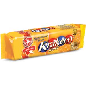 Krakersy Super marki Lajkonik - zdjęcie nr 1 - Bangla
