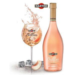 Bellini Vine Peach, Wino musujące z dodatkiem soku brzoskwiniowego marki Martini - zdjęcie nr 1 - Bangla