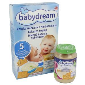Rossmann, Babydream, Kaszka mleczna z herbatnikami marki Rossmann - zdjęcie nr 1 - Bangla