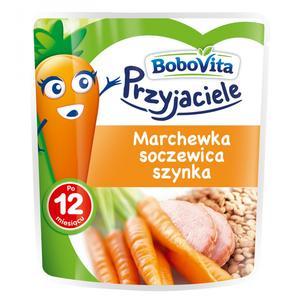 """Nutrcia, BoboVita, """"Przyjaciele"""" marchewka, soczewica, szynka marki Nutricia - zdjęcie nr 1 - Bangla"""