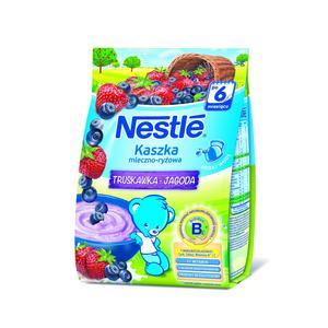 Nestle, Smaki Polskie, Kaszka mleczno-ryżowa truskawka-jagoda marki Kaszki Nestlé - zdjęcie nr 1 - Bangla