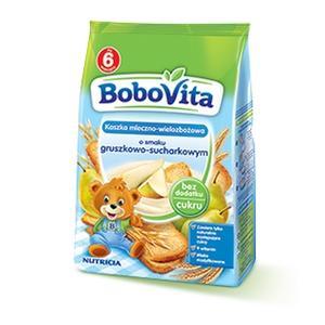 Nutricia, BoboVita, Kaszka mleczno-wielozbożowa o smaku gruszkowo-sucharkowym  marki Nutricia - zdjęcie nr 1 - Bangla