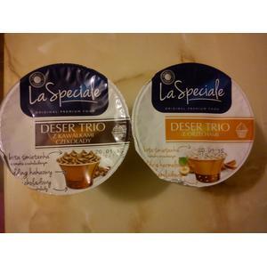 La Speciale Original Premium Food Deser Trio, różne rodzaje marki Biedronka - zdjęcie nr 1 - Bangla