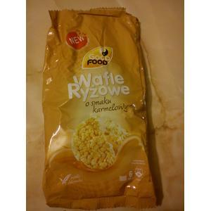 Wafle ryżowe o smaku karmelowym marki Good Food - zdjęcie nr 1 - Bangla