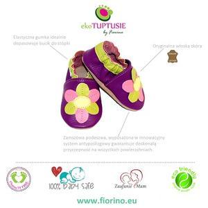 EkoTuptusie, buciki marki Fiorino Mother&Child Accessories - zdjęcie nr 1 - Bangla