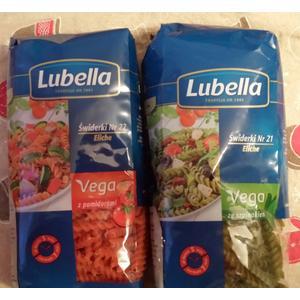 Vega, Makaron, Różne rodzaje marki Lubella - zdjęcie nr 1 - Bangla