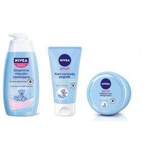Nivea Baby, Zestaw kosmetyków pielęgnacyjnych dla dzieci marki Nivea - zdjęcie nr 1 - Bangla