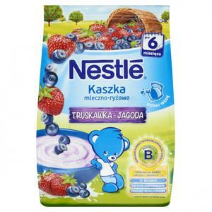 Nestle, Kaszka mleczno-ryżowa o smaku truskawka-jagoda marki Kaszki Nestlé - zdjęcie nr 1 - Bangla
